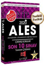 2020 ALES VIP Tamamı Çözümlü Fasikül Fasikül Son 10 Sınav Çıkmış Sorular 23 Eylül 2019 Sınavı Dahil