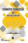 Türkiye Türkçesi 3 Sözcük Türleri