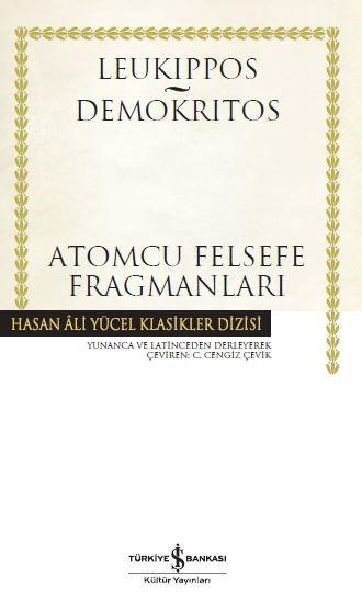 Atomcu Felsefe Fragmanları (Ciltli) - Leukippos pdf epub