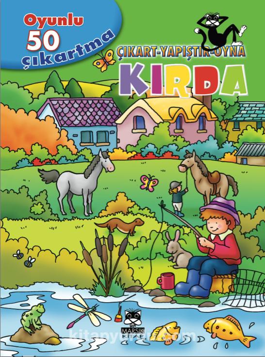 Kırda / Oyunlu 50 Çıkartma Dizisi -  pdf epub