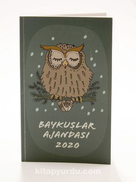 2020 Baykuş Ajandası (Büyük Boy)