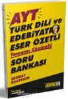 AYT Türk Dili ve Edebiyatı Eser Özetli Tamamı Çözümlü soru Bankası