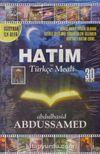 Görüntülü Hatim Adülbasit Abdussamed (30  Vcd)