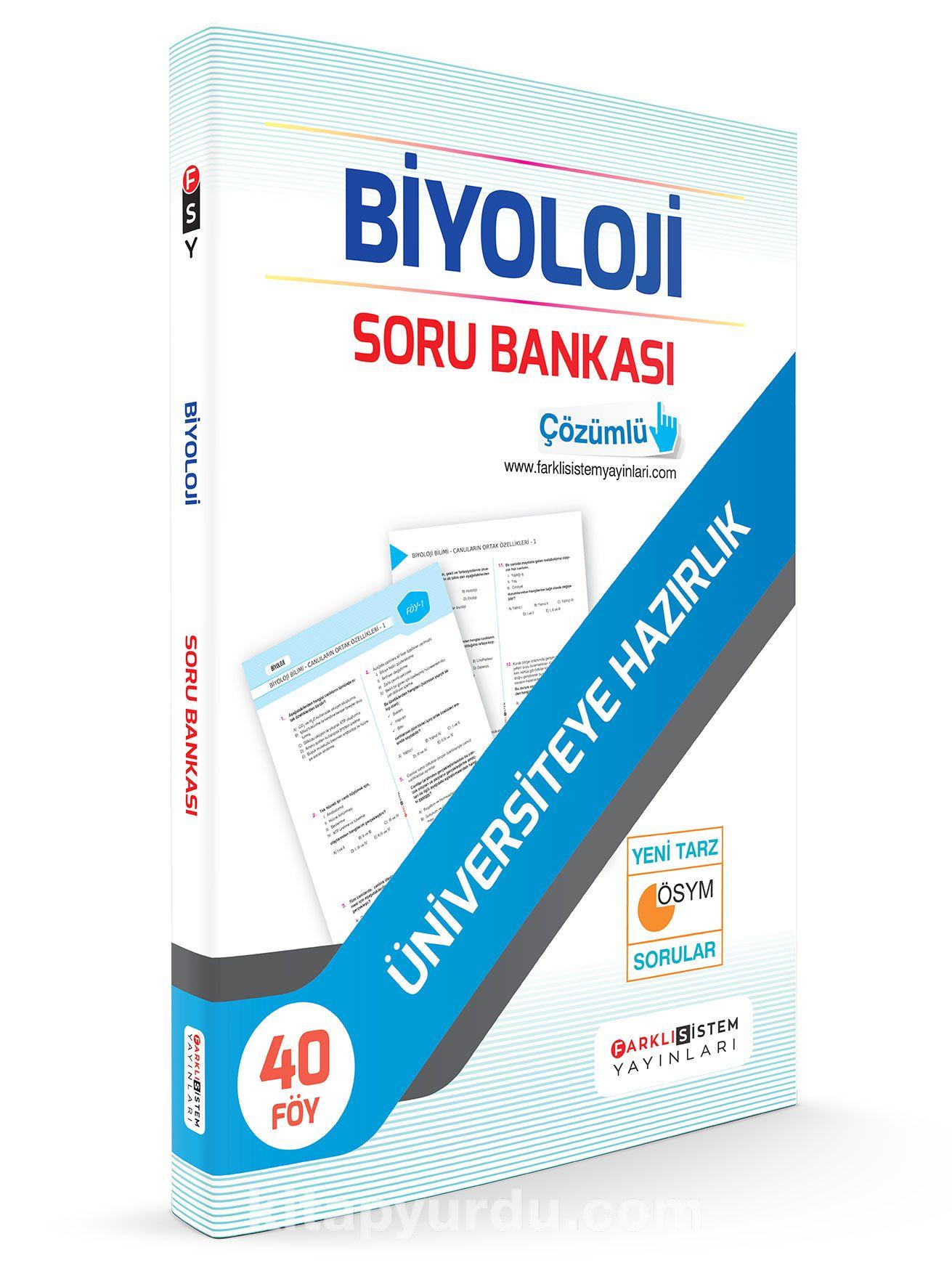 TYT Biyoloji Soru Bankası 45 Föy - Kollektif pdf epub