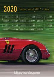 2020 Takvimli Poster - Arabalar Ferrari