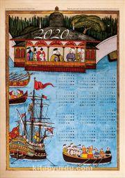 2020 Takvimli Poster - Minyatürler - Surname - Aynalıkavak