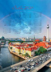 2020 Takvimli Poster - Şehirler - Berlin