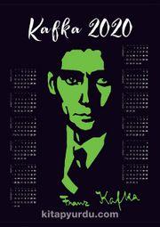 2020 Takvimli Poster - Yazarlar - Kafka