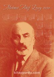 2020 Takvimli Poster - Yazarlar - Mehmet Akif Ersoy