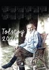2020 Takvimli Poster - Yazarlar - Tolstoy