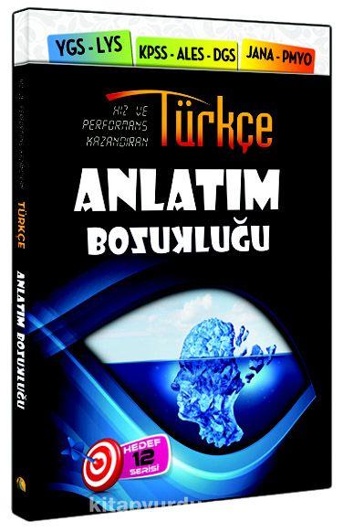 Türkçe Anlatım Bozukluğu (YGS-LYS-KPSS-ALES-DGS-JANA-PMYO)