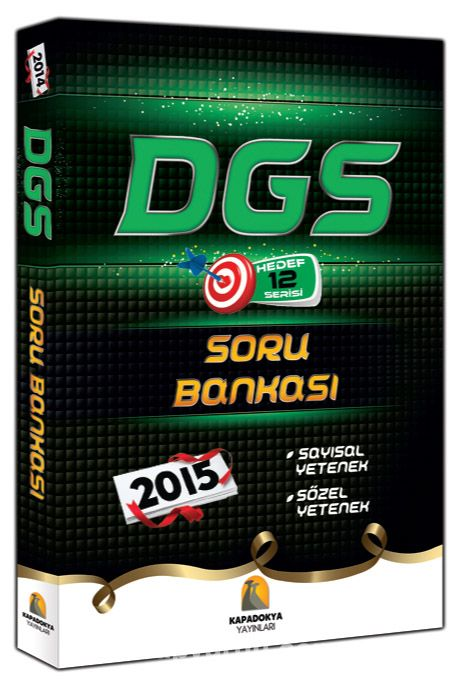 2015 DGS Soru Bankası Sayısal Yetenek-Sözel Yetenek