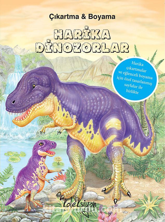 National Geographic Kids Harika Dinozorlar Cikartma Boyama
