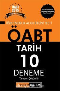 2015 KPSS ÖABT Tarih Tamamı Çözümlü 10 Deneme - Kollektif pdf epub