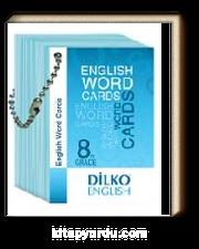 8. Sınıf Resimli İngilizce Kelime Kartı