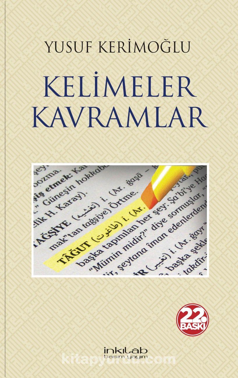 Kelimeler Kavramlar - Yusuf Kerimoğlu pdf epub
