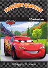 Disney Arabalar Faaliyet Çantası (20 Çıkartma)