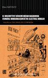 II. Meşrutiyet Dönemi Mizah Basınında Osmanlı Modernleşmesi ve Eleştirel Kodlar & Kalem ve Cem Dergileri Üzerinden