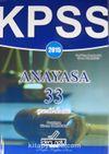 2015 KPSS Anayasa 33 Çerezlik Deneme