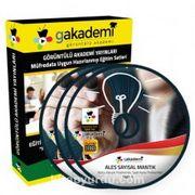 ALES Sayısal ve Sözel Mantık Çözümlü Soru Bankası Seti (11 Dvd)