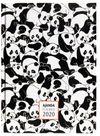 2020 Silly Pandas Haftalık Ajanda (3065)
