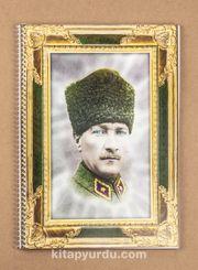 Bookinzi Okul Defteri - 80gr. A4 Spiralli - Atatürk - Ankara 1922