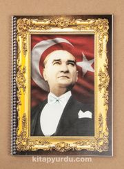 Bookinzi Okul Defteri - 80gr. A4 Spiralli - Atatürk 29 Ekim 1923