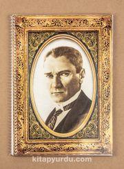 Bookinzi Okul Defteri - 80gr. A4 Spiralli - Atatürk Portre