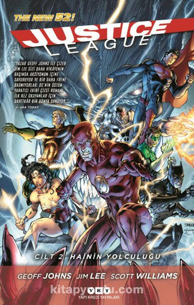 Justice League: Cilt 2 - Hainin Yolculuğu - Geoff Johns pdf epub