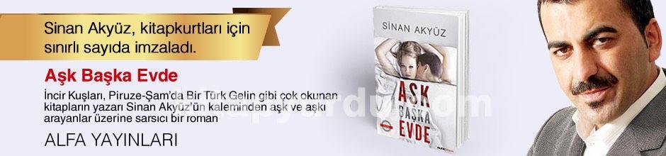 Aşk Başka Evde. Sinan Akyüz, Kitapkurtları için Sınırlı Sayıda İmzaladı.