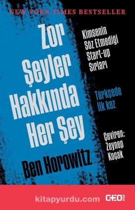 Zor Şeyler Hakkında Her Şey - Ben Horowitz pdf epub