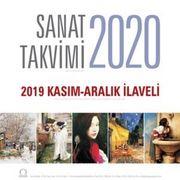 2020 Sanat Takvimi - Duvar Takvimi