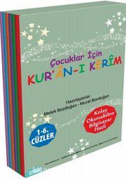Çocuklar İçin Kur'an-ı Kerim 1- 6. Cüzler (6 Kitaplık Set)