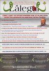 Lalegül Aylık İlim Kültür ve Fikir Dergisi Sayı:26 Nisan 2015