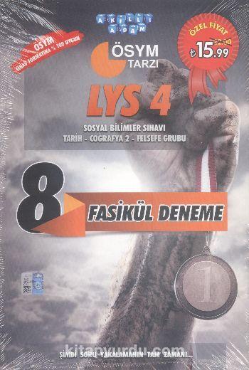 LYS 4 Sosyal Bilimler SınavıTarih-Coğrafya 2- Felsefe Grubu 8 Fasikül Deneme - Kollektif pdf epub