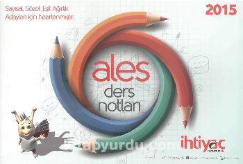 2015 ALES Ders Notları - Kollektif pdf epub