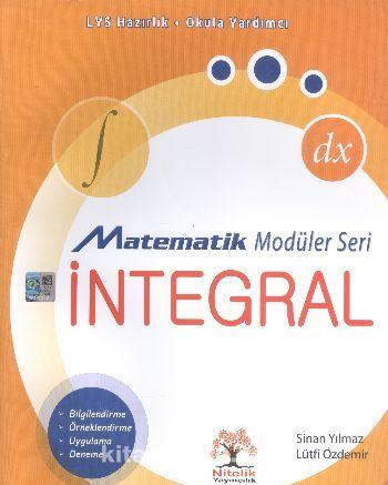 LYS Hazırlık Matematik Modüler Seri İntegral - Sinan Yılmaz pdf epub