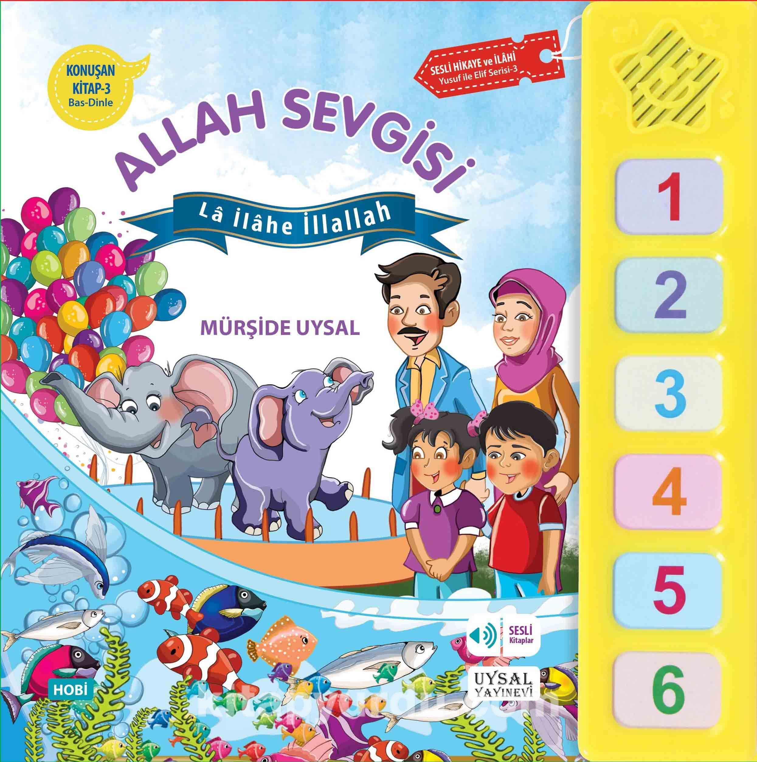 Allah Sevgisi / Konuşan Kitap 3 - Mürşide Uysal pdf epub