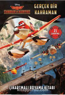 Disney Uçaklar - Gerçek Bir Kahraman Çıkartmalı Boyama Kitabı - Kollektif pdf epub