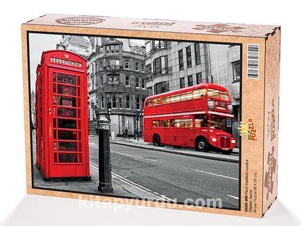 Fleet Caddesi Londra Ahşap Puzzle 2000 Parça (UK50-MM)
