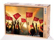 Bayrak Sevgisi Ahşap Puzzle 2000 Parça (TR50-MM)