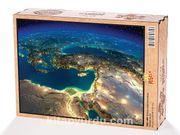 Türkiye Uydu Görüntüsü Ahşap Puzzle 2000 Parça (TR51-MM)