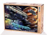 Uzay Filosu ve Satürn Ahşap Puzzle 2000 Parça (BK50-MM)