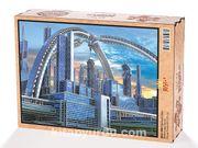 Fütüristik Şehir Ahşap Puzzle 2000 Parça (BK51-MM)