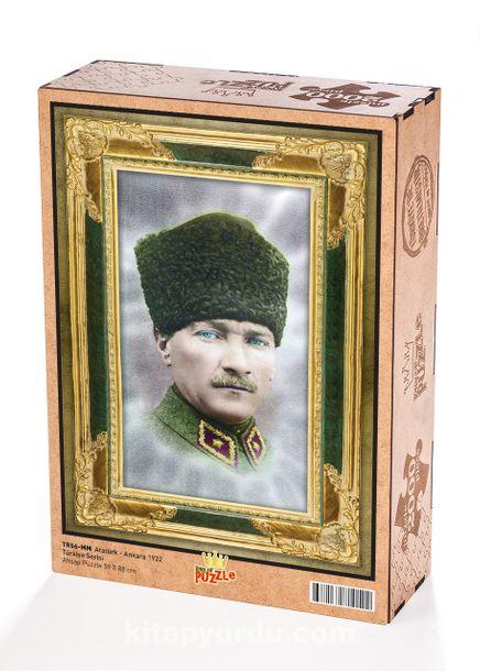 Atatürk - Ankara 1922 Ahşap Puzzle 2000 Parça (TR56-MM)