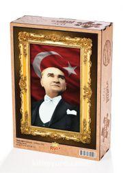 Atatürk - 29 Ekim 1933 Ahşap Puzzle 2000 Parça (TR58-MM)