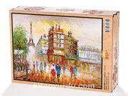 Paris Caddeleri - Fransa Ahşap Puzzle 2000 Parça (SK52-MM)