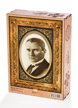 Atatürk Portre Ahşap Puzzle 2000 Parça (TR59-MM)