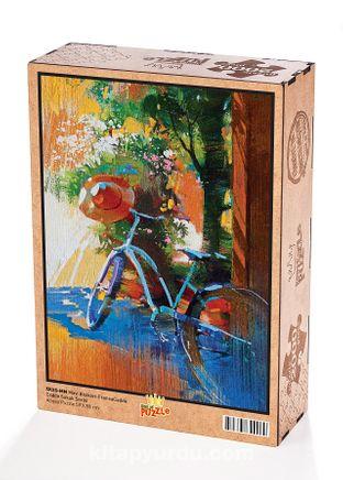 Mavi Bisiklet Fransa Ahşap Puzzle 2000 Parça (SK55-MM)