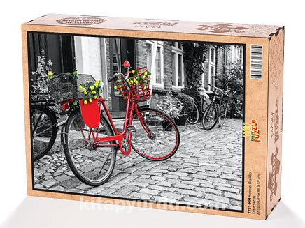 Kırmızı Bisiklet Ahşap Puzzle 2000 Parça (TT51-MM)